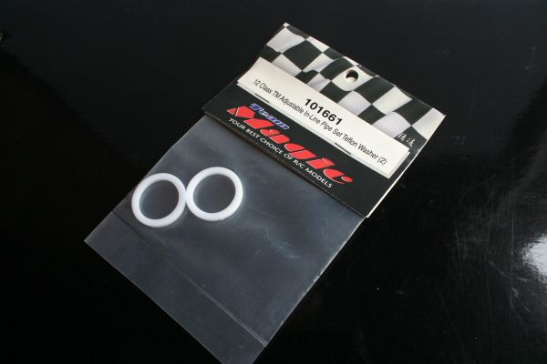Team Magic 12 Class Adjustable In-Line Exhaust Pipe Set Teflon Washers - 101661