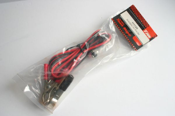 Team Magic 12v Wire Set For X5 & Alpha Starter Box - 111125