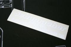 Schumacher European Championships 95 2wd & 4wd Decal / Sticker - D