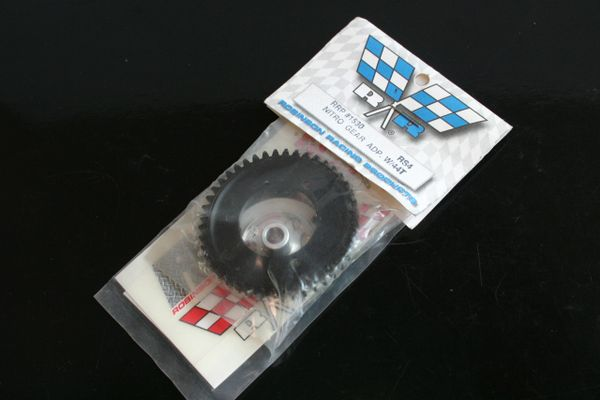 Robinson Racing Aluminium Spur Gear Adapter + 44T Spur Gear HPI RS4 Nitro - 1530