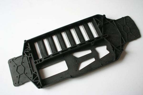 Associated TC4 Composite Lower Chassis Plate - AS 31000 New (No Packaging)