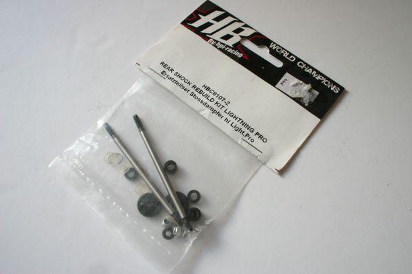Hot Bodies Lightning Pro Rear Shock Rebuild Kit - HBC8107-2 (Incomplete)