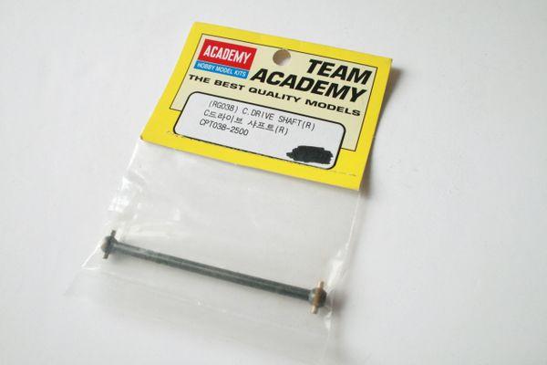 Team Academy RG038 C. Drive Shaft (R) - CPT038-2500