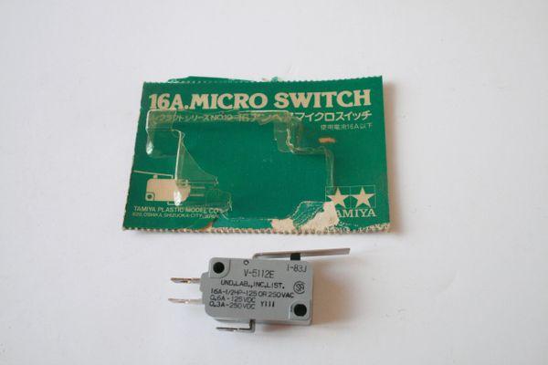 Tamiya Elecraft Series 16 Amp Micro Switch - No10 (Scruffy packaging)
