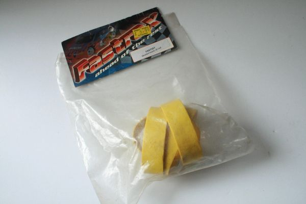 Fastrax Moulded Touring Car Inserts (Yellow, Soft) Fastrax FAST221