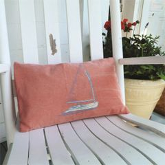 Nantucket Life Red Accent Pillow