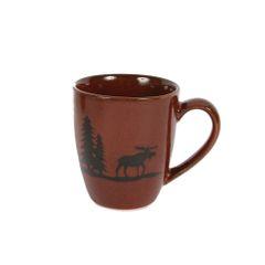 Woodland Moose Stoneware Mug