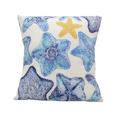 Decorative Starfish Pillow