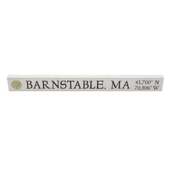 Barnstable, MA Wooden Sign