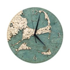 Cape Cod Laser Cut Clock