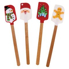 Holiday Spatula, Set of 4