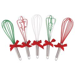 Christmas Whisk, Set of 5
