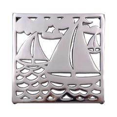 Sailboat Trivet