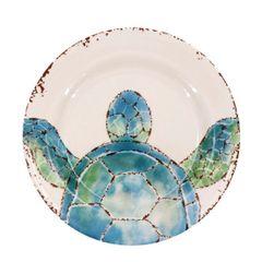 Sea Turtle Dessert Plate