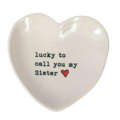 Sister Heart Trinket Dish
