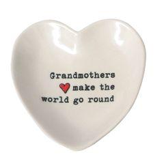 Grandma Heart Trinket Dish