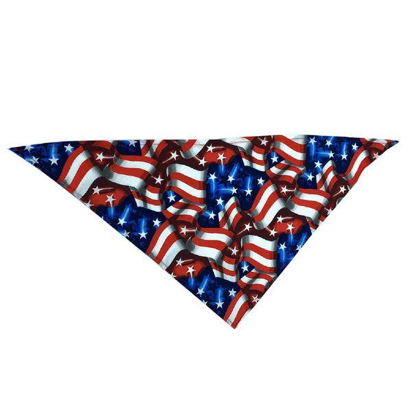 American Flag Collage Bandana