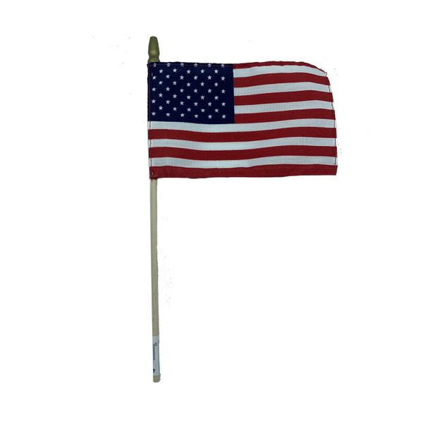 Mini American Flag on Stick