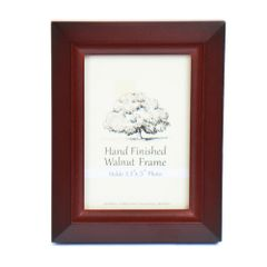 Picture Frame 3 1/2 x 5 - Walnut