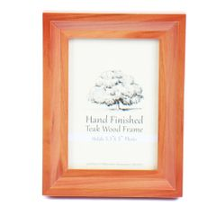 Picture Frame 3 1/2 x 5 - Teak