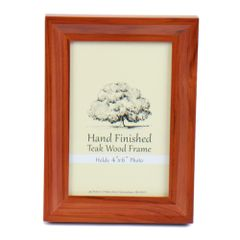 Picture Frame 4 x 6 - Teak