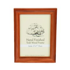 Picture Frame 5 x 7 - Teak