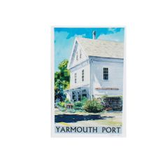 Kennedy Gallery & Studios Poster - Yarmouth Port Parnassus Books