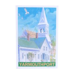 Kennedy Gallery & Studios Poster - Yarmouth Port Church
