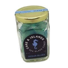 Cake & Islands Sea Glass Candy - Ocean Blues Blackberry & Key Lime