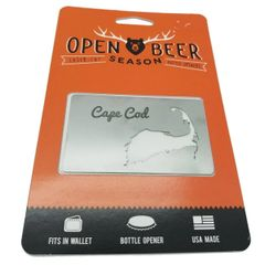 Cape Cod Wallet Bottle Opener