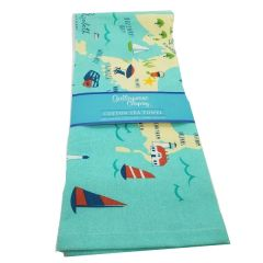 Cape Cod Tea Towel