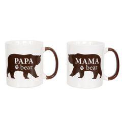Mama Bear & Papa Bear Mug Set