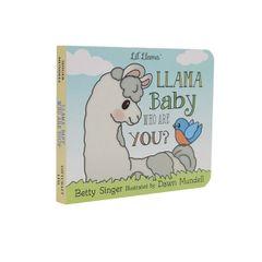 Llama Baby Book