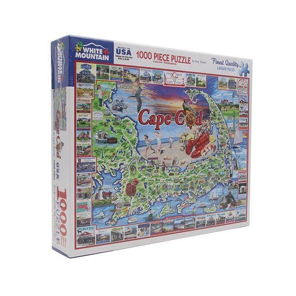 Cape Cod Map 1000 Piece Puzzle