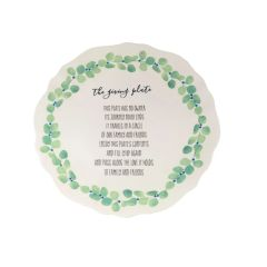Eucalyptus Giving Plate