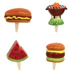 Mini BBQ Charmers Set of 4