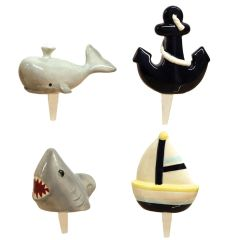 Mini Nautical Charmers Set of 4
