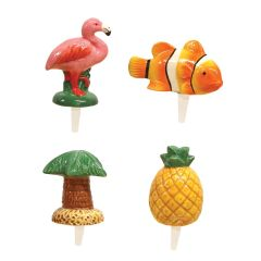 Mini Tropical Charmers Set of 4