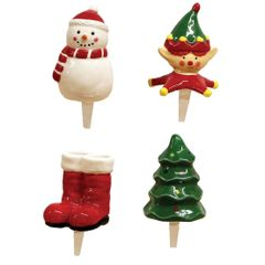 Mini Winter Charmers Set of 4
