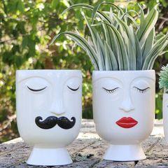 Face Vase Large