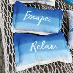Dip Dye Pillow
