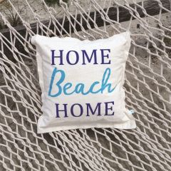 Home Beach Home Pillow