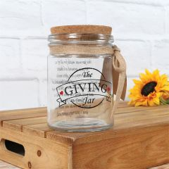 Happy Home Giving Jar
