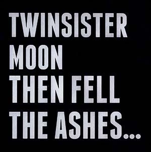 Twinsistermoon: Then Fell the Ashes CD