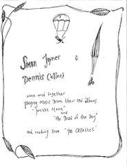 Simon Joyner & Dennis Callaci House Concert TICKET: Oakland CA Feb. 16th, 2020