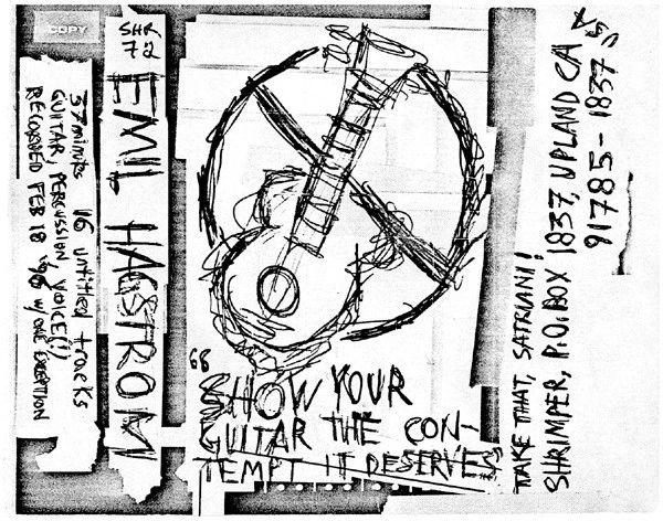 Emil Hagstrom - Show Your Guitar The Contempt It Deserves Cassette