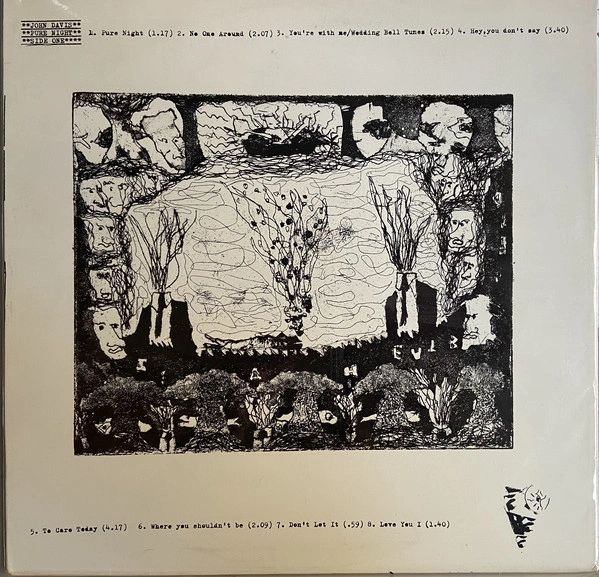 John Davis - Pure Night LP