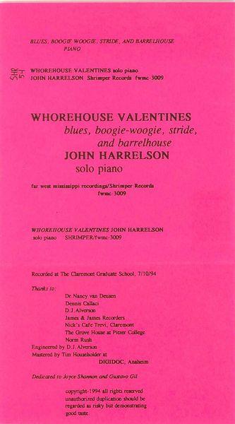 John Harrelson - Whorehouse Valentines Cassette