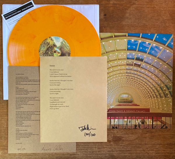 Davis, John & Dennis Callaci: Arches & Pathways LP (Pre-order w/Deluxe Option)