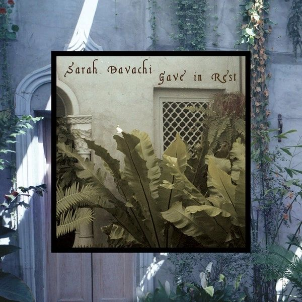 Davachi, Sarah: Gave in Rest (Ltd Ed Marbled Red Vinyl) LP